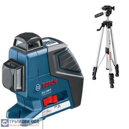 Снимка на Линеен лазер GLL 2-80  Professional + BT150