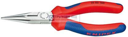 Снимка на Клещи с издължени челюсти и режещ ръб KNIPEX 160