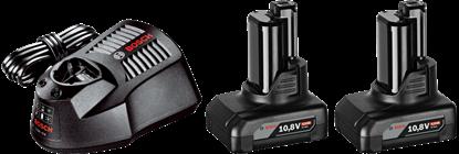 Снимка на Bosch Стартов комплект 2 x GBA 12 V 4,0 Ah O-B + AL 1230 CV Professional;1600Z00046