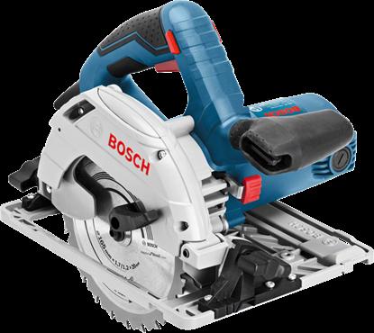 Снимка на Ръчен циркуляр Bosch GKS 55+ GCE Professional в L-BOXX+ Водещ линеал FSN 1600