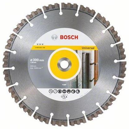 Снимка на Диамантен диск за рязане Best for UNIVERSAL 300 x 20 x 15 mm