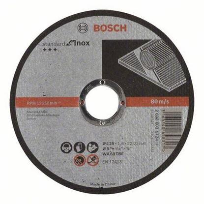 Снимка на Диск за рязане, AS 46 T INOX BF, 125 mm, 22,23 mm, 1,6 mm,2608603172