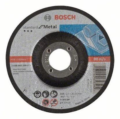 Снимка на Диск за рязане, A 30 S BF, 115 mm, 22,23 mm, 2,5 mm,2608603159