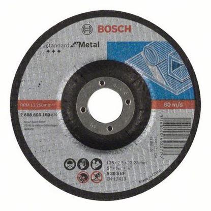 Снимка на Диск за рязане, A 30 S BF, 125 mm, 22,23 mm, 2,5 mm,2608603160
