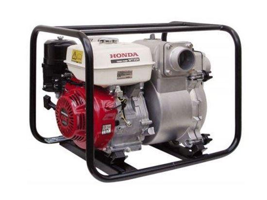 Снимка на Водна помпа HONDA WT 30, 3'', максимален дебит 1210 л/мин, налягане 2.7 bar+1L.масло за двигателя