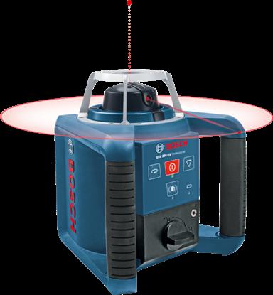 Снимка на Ротационен лазер Bosch GRL 300 HV Professional Set,GRL 300 HV set + BT 300 + GR 240 + бонус акумулаторен винтоверт GSR 12V-15