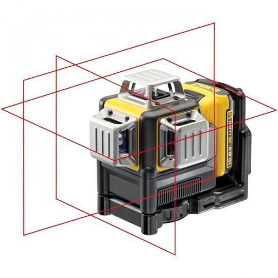 Снимка на Лазерен нивелир DeWalt DCE089D1R-QW 360° - 10.8V Li-Ion,червен лъч