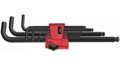Снимка на Комплект шестограми;950/9 Hex-Plus 9броя L-key set, Метрични;5022086001