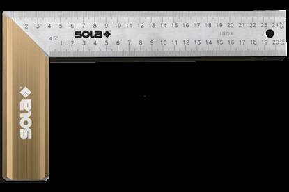Снимка на Ъгъл ;SRB 400;56012401;неръждаема стомана,400x170mm