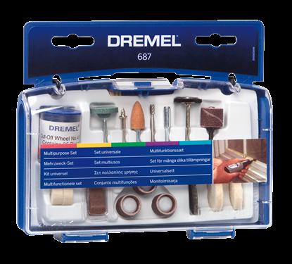 Снимка на  Универсален комплект Dremel;26150687JA