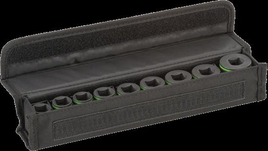 """Снимка на  Комплект вложки за глух ключ, 9 части,1/2"""";38 mm; 10, 11, 13, 17, 19, 21, 22, 24, 27 mm;2608551100"""