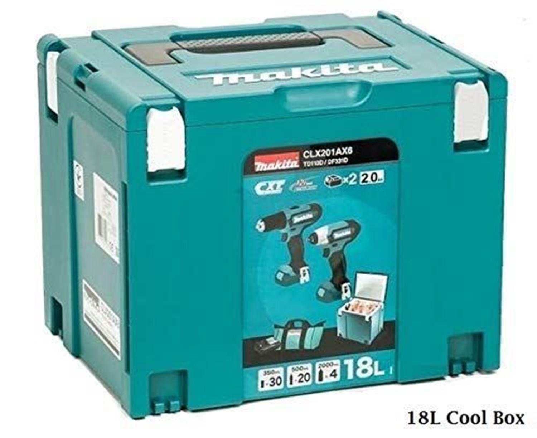 Снимка на АКУМУЛАТОРЕН К-КТ 12V CLX201AX6, DDF331DZ + TD110DZ хладилен куфар