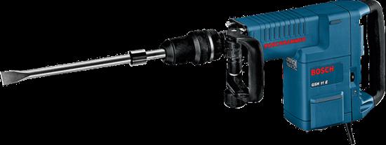 Снимка на Къртач със SDS-max GSH 11E Proffesional,Куфар,Секач 400х25 мм+ БОНУС Лични предпазни средства