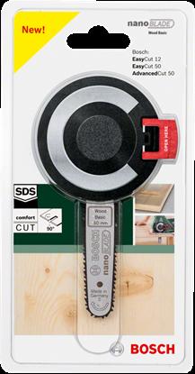 Снимка на Нож nanoBLADE Wood Basic 50;2609256D83