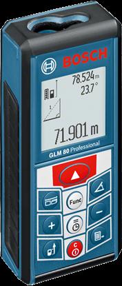 Снимка на Лазерен далекомер GLM 80 Professional