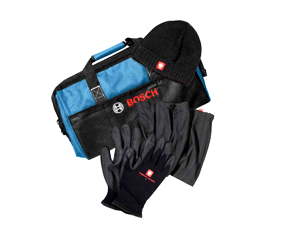 Снимка на Зимен сет + чанта за инструменти