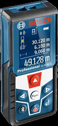 Снимка на  BOSCH GLM 50 C, Bluetooth++ БОНУС Лични предпазни средства