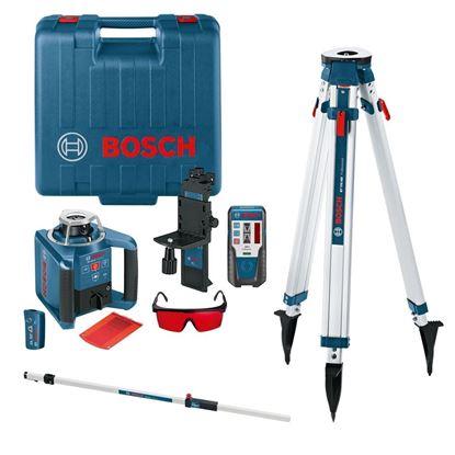Снимка на Ротационен лазер Bosch GRL 300 HV Professional Set,GRL 300 HV set + BT 300 + GR 240 ++ комплект инструменти Wiha