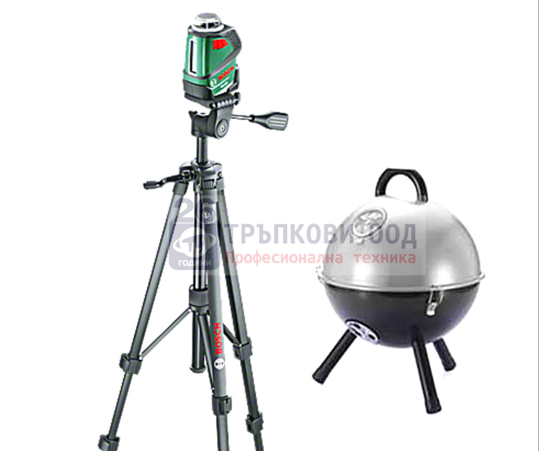 Снимка на  Линеен лазер PLL 360 Set+Подарък преносимо барбекю