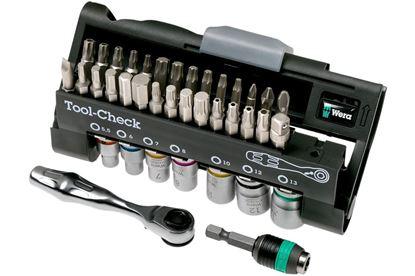 Снимка на Комплект ръчни инструменти WERA Tool-Check Automotive;5200995001