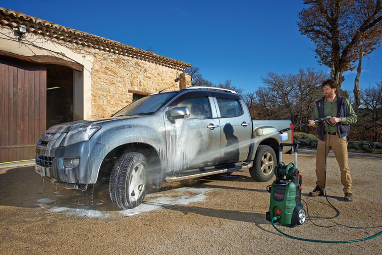 Снимка на НОВО!Водоструйка  AdvancedAquatak 140+ подарък комплект за почистване на автомобил
