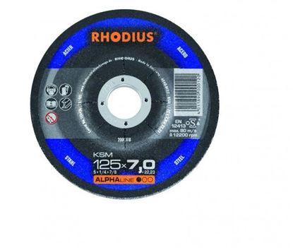 Снимка на Диск за шмиргелене на метал 125х7,0х22,23 KSM;200018