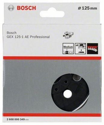 Снимка на Гумена плоча;мека, 125 mm;2608000349