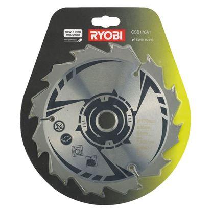 Снимка на Циркулярен диск Ryobi CSB170A1,1X170mm,12T,5132002565